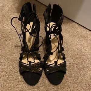 Never work Vince Camuto Strappy Heels